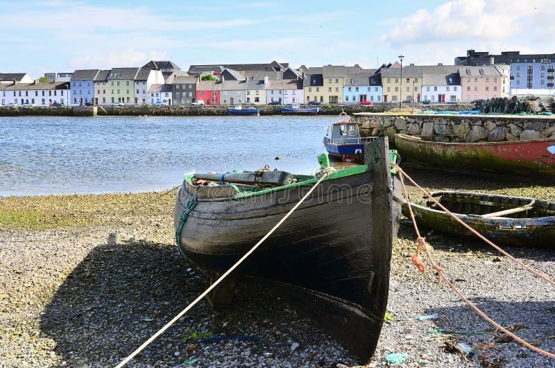 Peschereccio in Galway fotografia stock