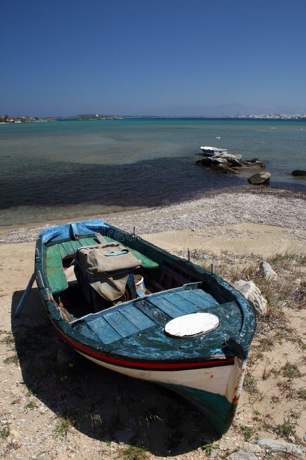 Peschereccio - Grecia immagini stock