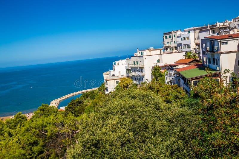Peschici - Gargano, Puglia, Italy. Peschici - Apulia, Gargano Peninsula, Puglia, Southern Italy royalty free stock photos