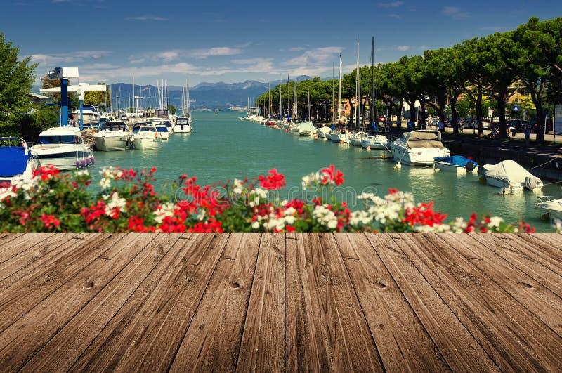 Peschiera Del Garda zdjęcia royalty free
