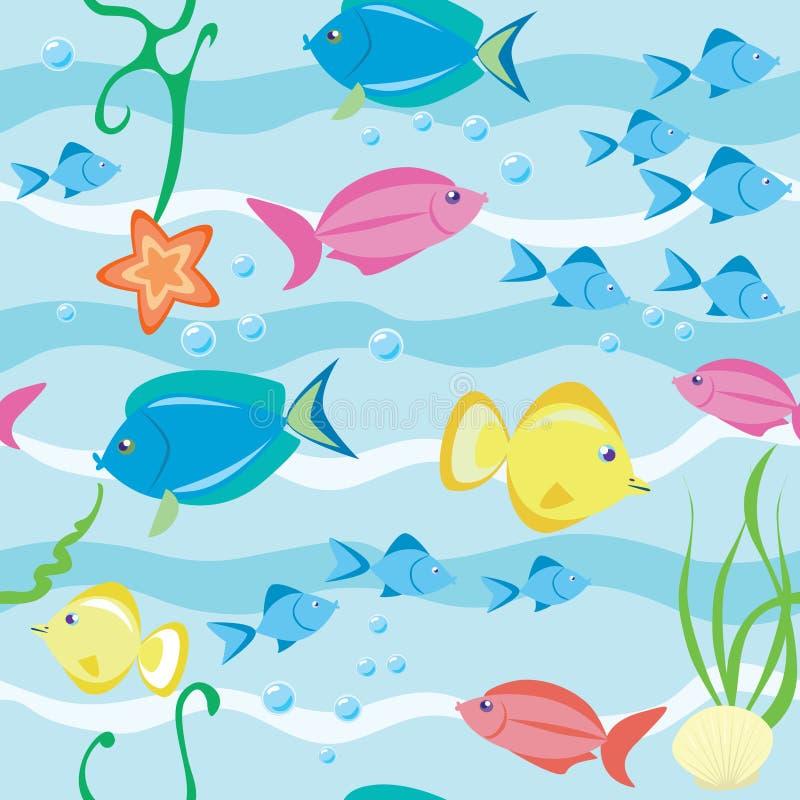 Pesci illustrazione vettoriale