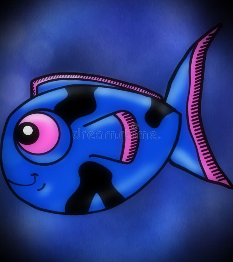 Pesci blu fotografie stock libere da diritti