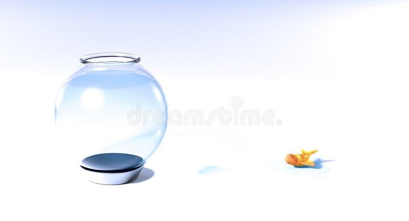 Pesci da acqua illustrazione di stock