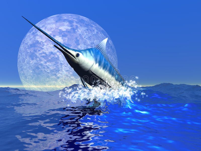 Pesci del Bill illustrazione di stock