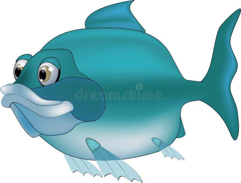 Pesci del fiume royalty illustrazione gratis