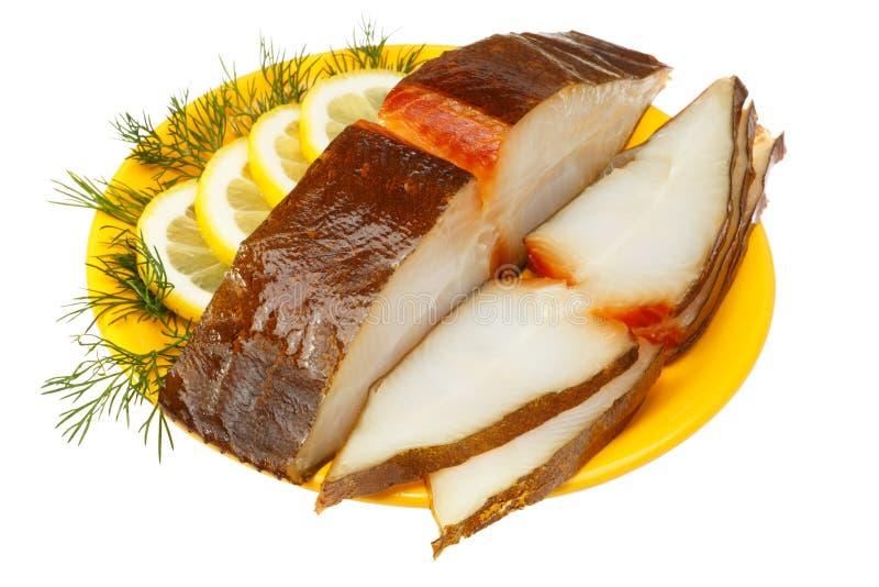 Pesci dell'halibut fotografia stock libera da diritti