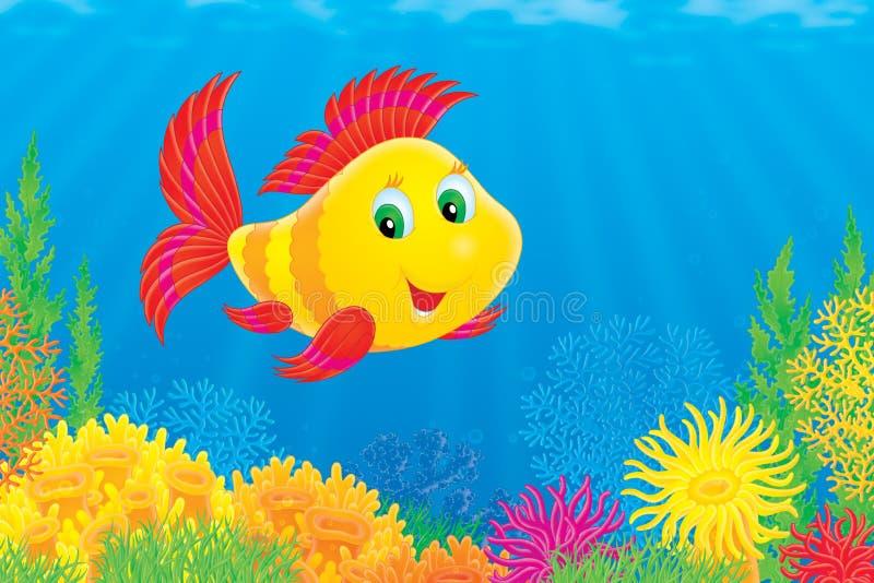 Pesci di corallo royalty illustrazione gratis