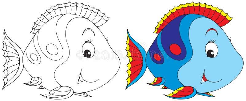 Pesci di corallo illustrazione di stock