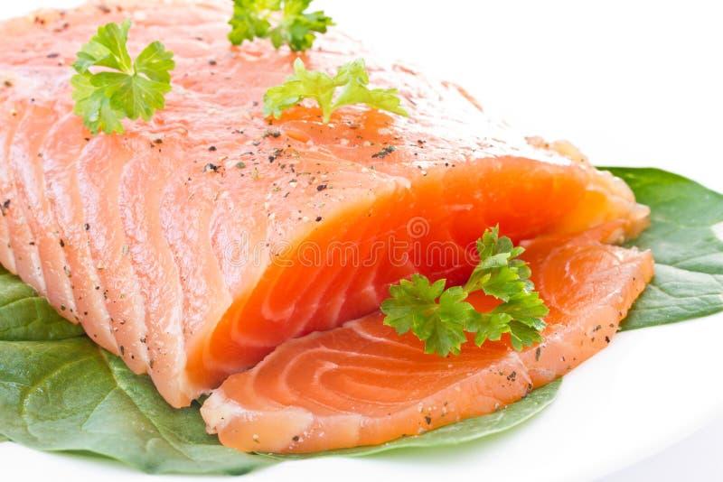 Pesci rossi salati immagine stock libera da diritti
