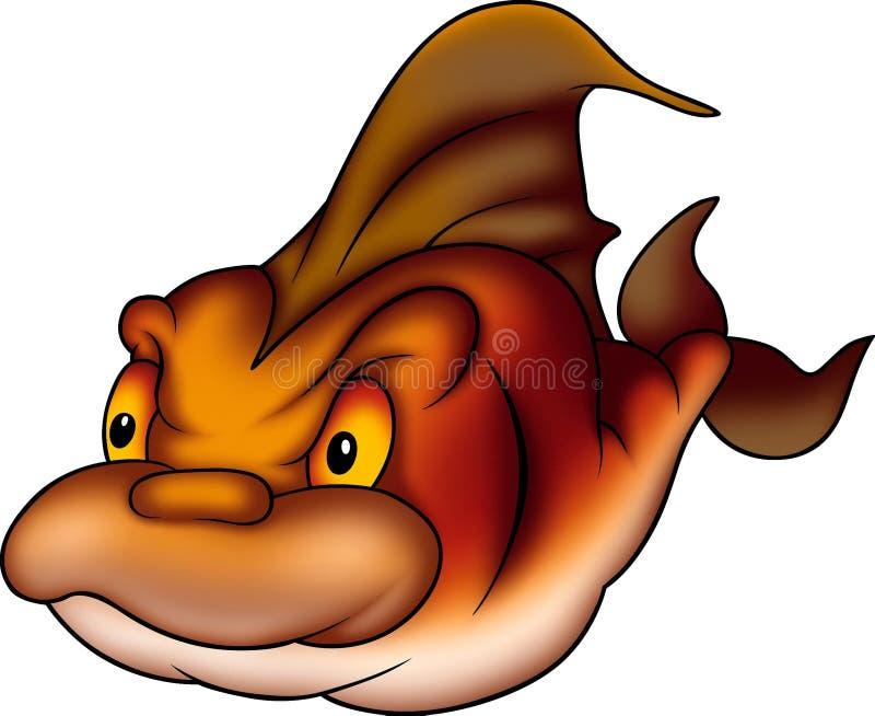 Pesci subacquei Flamy illustrazione vettoriale