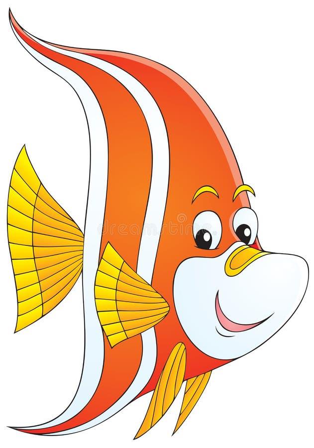 Pesci tropicali royalty illustrazione gratis