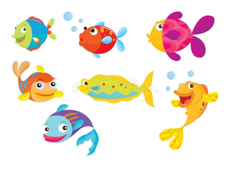 Pesci tropicali illustrazione di stock