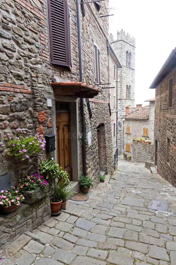 pesciatina quirico San svizzera Tuscany zdjęcie stock