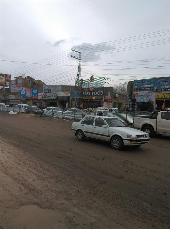 Peshawar G Camino de T fotografía de archivo libre de regalías