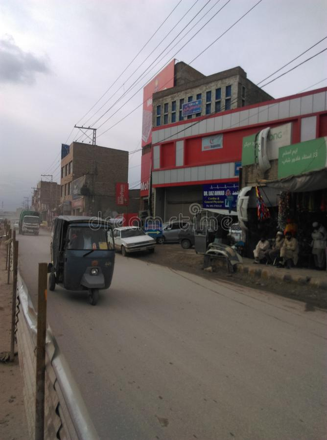 Peshawar G Camino de T fotos de archivo libres de regalías
