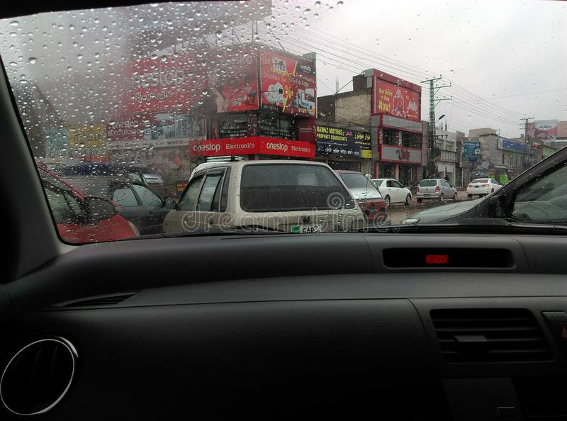 Peshawar G Camino de T foto de archivo
