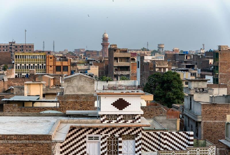 Peshawar Kpk urbano Paquistão fotografia de stock
