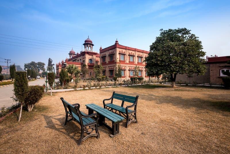 Peshawar museum Pakistan royaltyfri bild