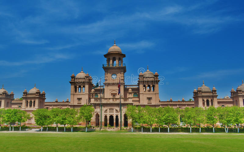 Peshawer-Universität lizenzfreies stockfoto