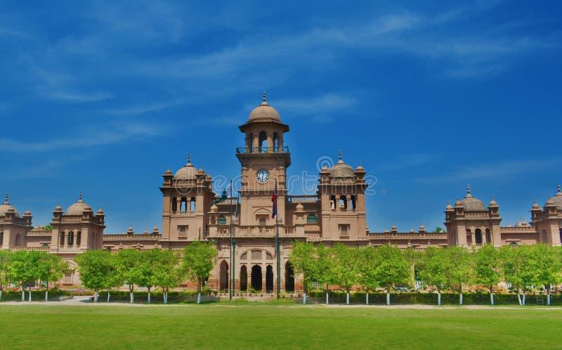 Peshawer universitet royaltyfri foto
