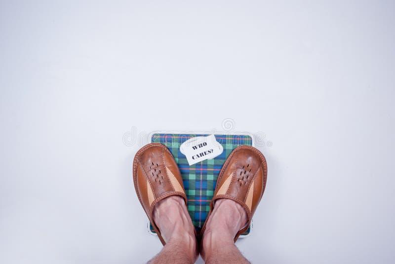 Peso corporeo fotografia stock libera da diritti