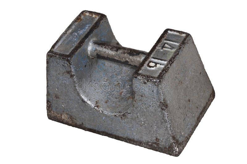 Peso del arrabio  foto de archivo