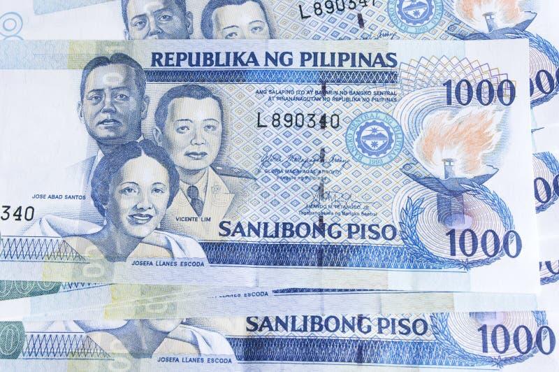 Peso delle Filippine fotografie stock libere da diritti