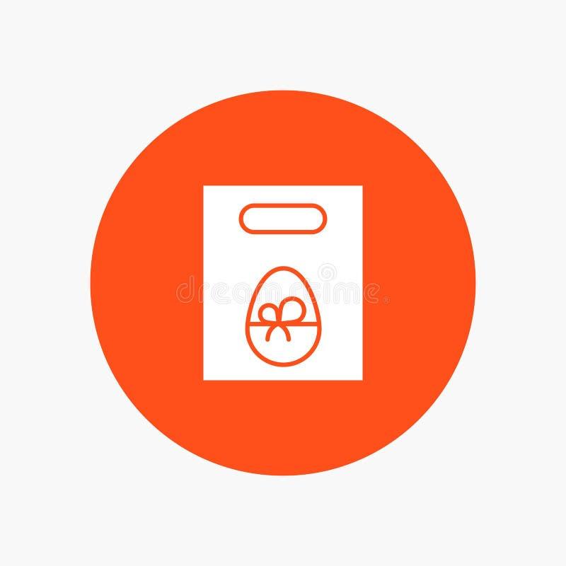 Peso, ovo, presente, Páscoa ilustração stock