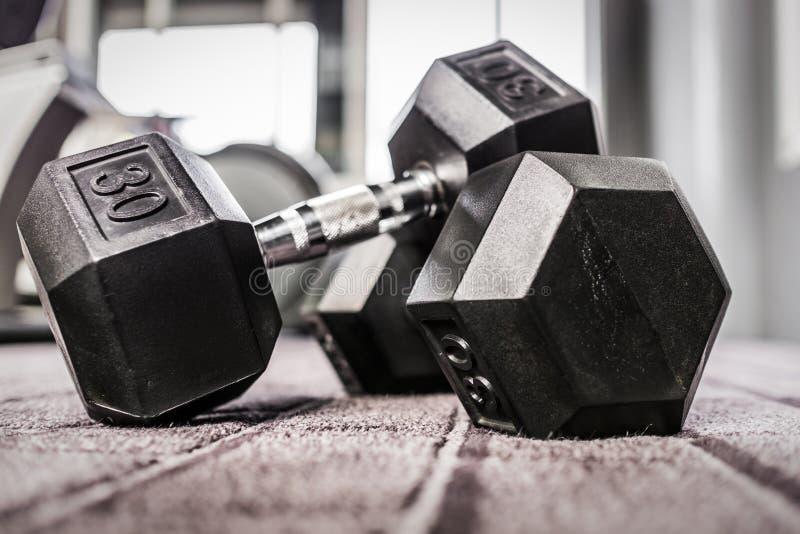 Pesos do Gym imagens de stock