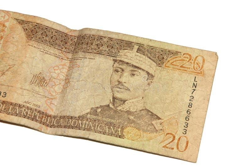 Pesos dominiquenses fotografia de stock
