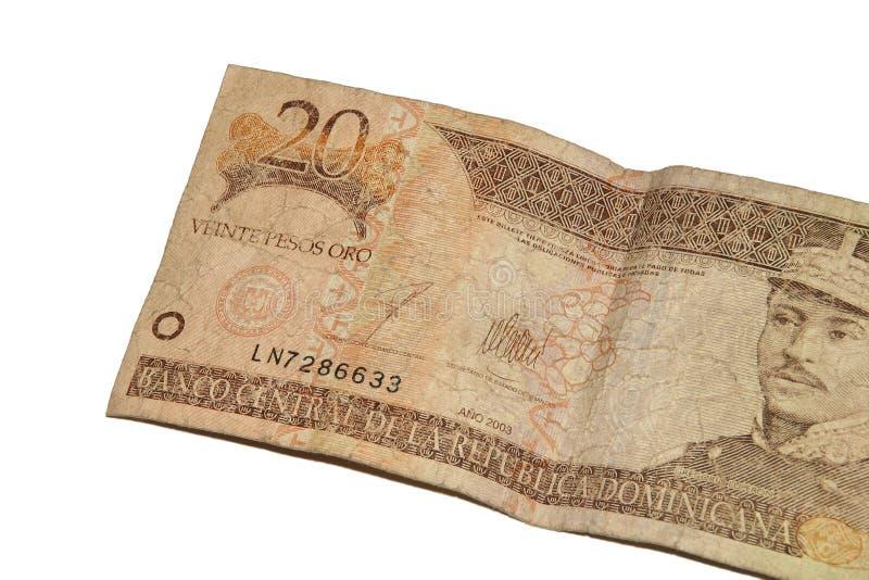 Pesos dominiquenses imagens de stock