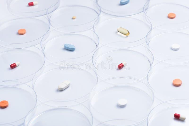 Pesquisa farmacêutica imagens de stock