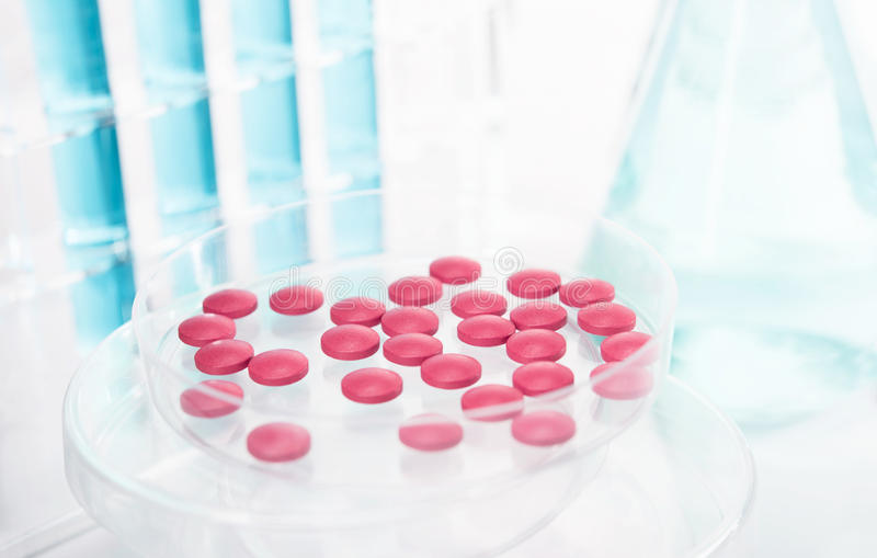 Pesquisa farmacêutica imagem de stock royalty free