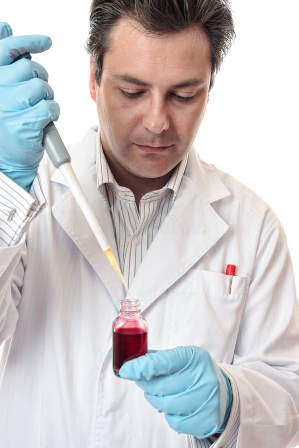 Pesquisa farmacêutica médica clínica imagem de stock