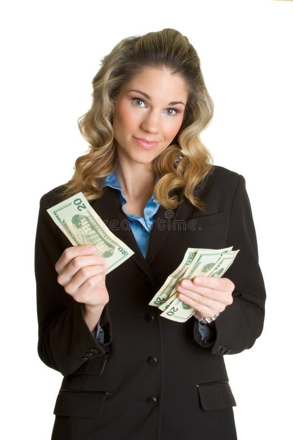Pessoa do dinheiro imagens de stock royalty free