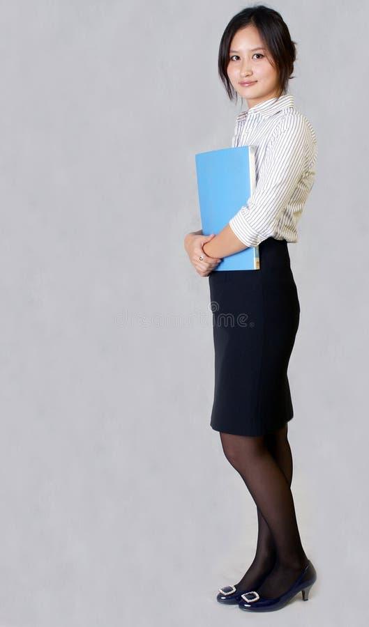 Download Pessoais fêmeas foto de stock. Imagem de dobradores, marketing - 12800816