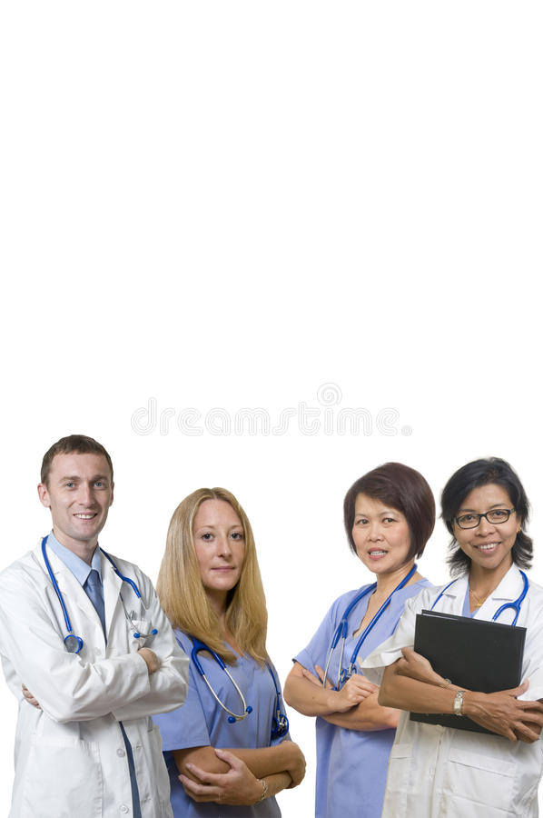 Pessoal hospitalar foto de stock royalty free