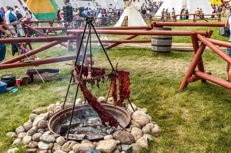 Pessoas idosas Blackfoot imagens de stock royalty free