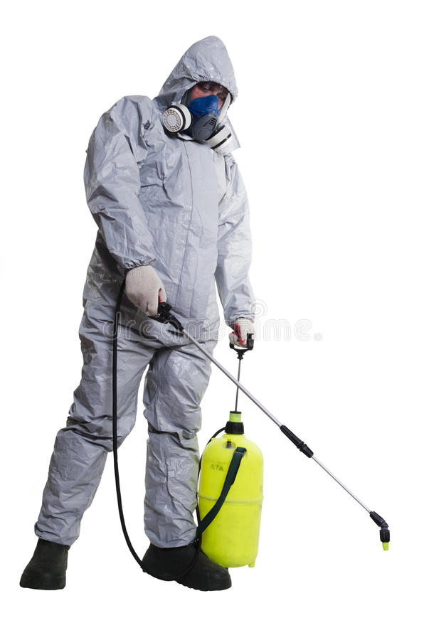 Free PEST CONTROL WORKER Royalty Free Stock Photography - 31807457
