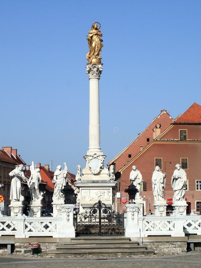 Pest-Denkmal, Maribor lizenzfreie stockfotos