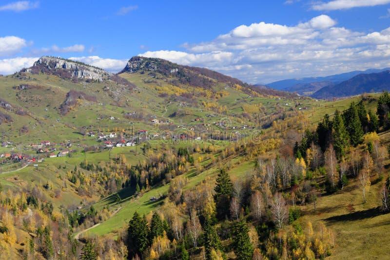 Download Pestera village in Romania stock image. Image of carpathian - 34637155