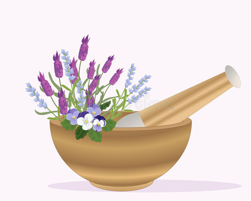 Pestle And Mortar Royalty Free Stock Photography