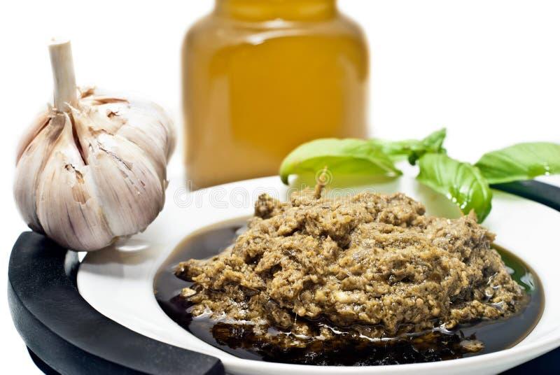 Download Pesto Alla Genovese , Basil Sauce Stock Image - Image: 33053491