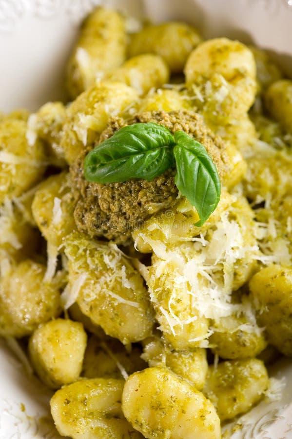 Download Pesto Gnocchi Royalty Free Stock Image - Image: 15003956