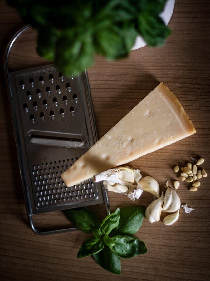 Pesto Ingredients On Woo Free Public Domain Cc0 Image
