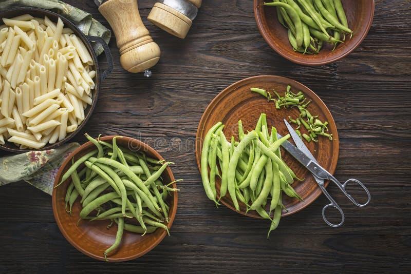 Pesto, salad, sausage, pesto pasta salad recipe, grape, tomatoes, asparagus pasta, vegan royalty free stock photography
