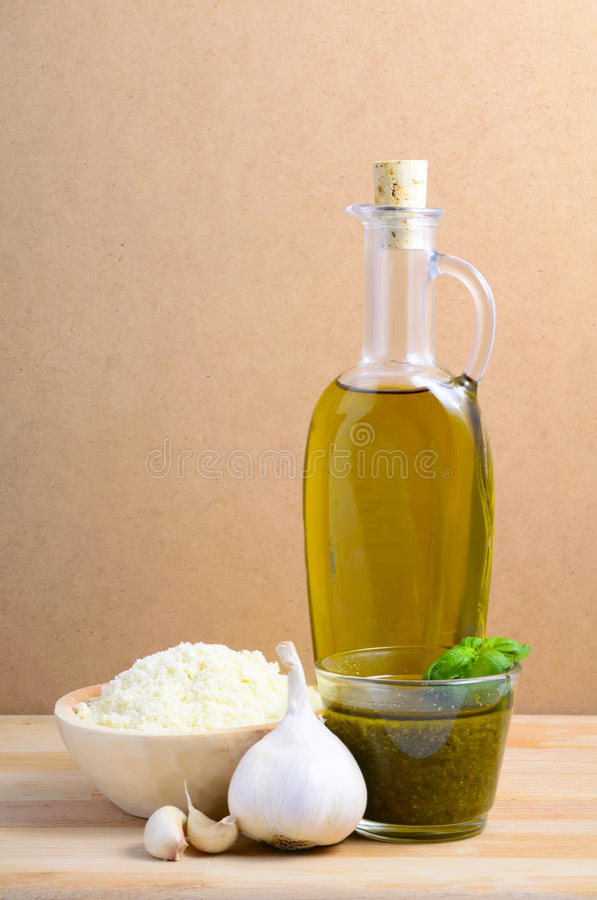 Download Pesto still life stock image. Image of life, natural - 18709079
