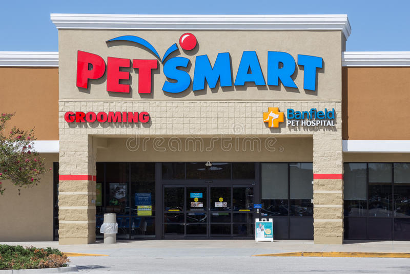 Pet έξυπνο Storefront στοκ φωτογραφίες με δικαίωμα ελεύθερης χρήσης