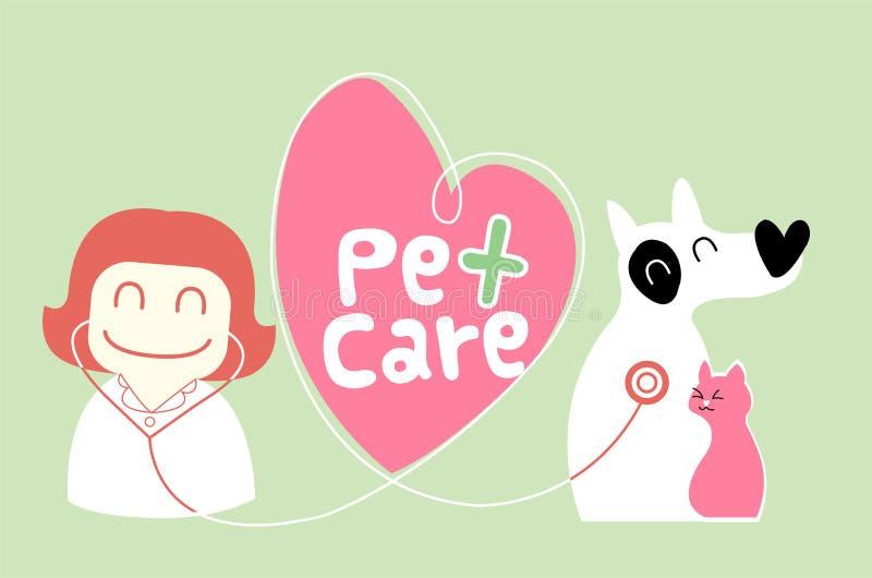 Download Pet care illustration stock vector. Image of illustration - 28123686