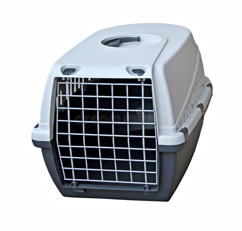 Pet cat dog carrier stock image
